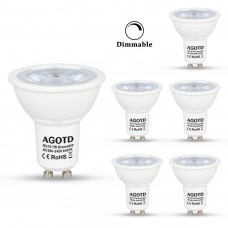 7 Watt GU10 LED Spot Cool White Daylight White - 50W Replacement - Narrow Beam 38 Degree Angle